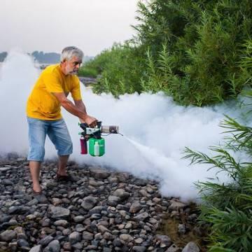 Дезинсекция насекомых горячим туманом